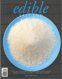 Edible East End magazine cover | high summer 2011